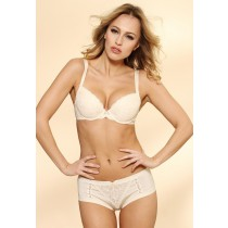 Soutien gorge push up triumph elegant essence whu vanille