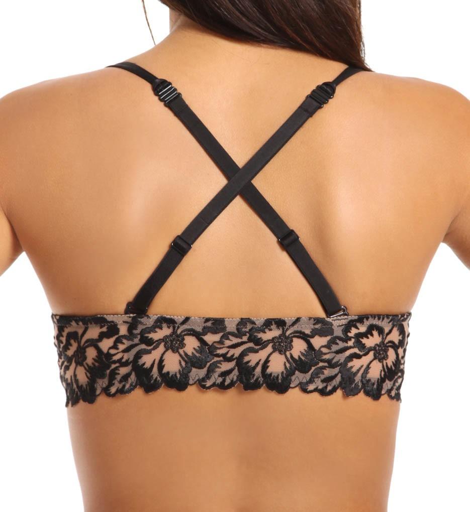 soutien gorge push up simone pereletatoo noir 13u342 pas cher sur lingerie de. Black Bedroom Furniture Sets. Home Design Ideas