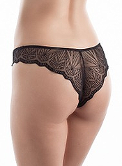 tanga chantelle fascination noir 3659