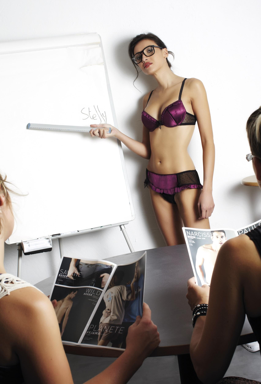 Soutien gorge preformé push up sexy steffy lingerie cocotte