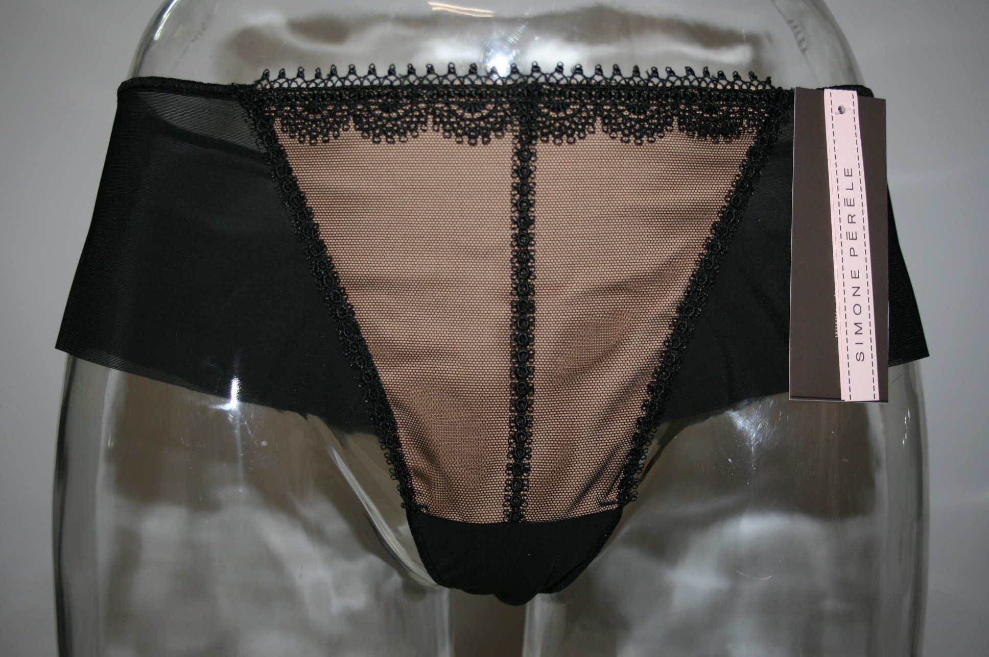 shorty simone perele stiletto noir