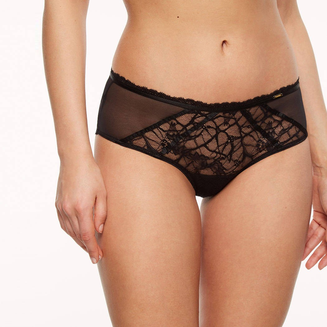 Chantelle Segur shorty noir c21540