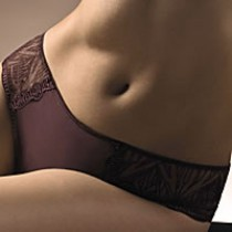 slip chantelle fascination 3653 marron
