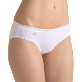 lot de 4 Sloggi BASIC MINI BLANC
